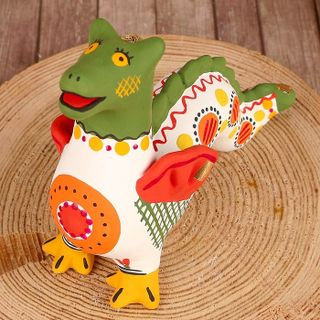 Dymkovo clay toy Dragon
