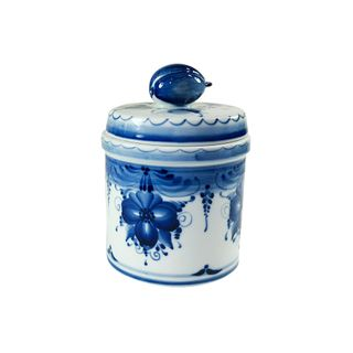 Bank Prunes small 2nd grade, Gzhel Porcelain factory