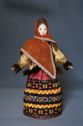 Doll gift porcelain. Center. Russia. Female in winter plumage. 19th century. - view 1