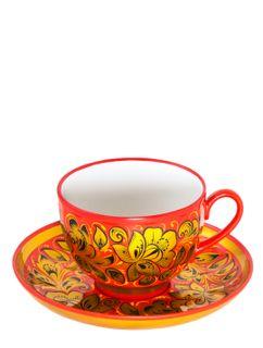 "Tea set ""Revival"" with Khokhloma painting"