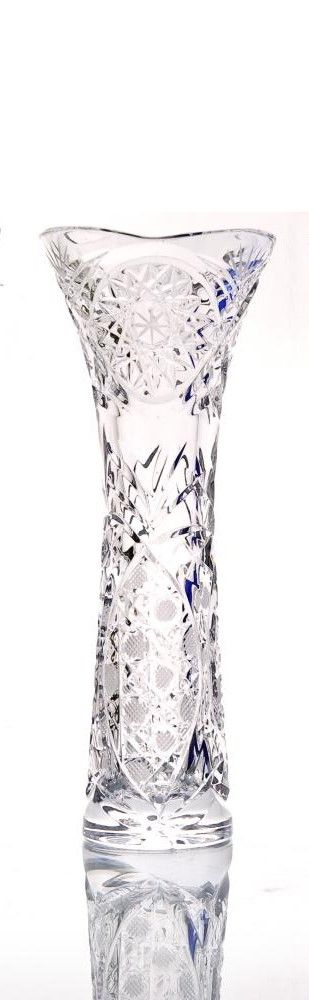 "Crystal vase for flowers ""Alice"" colorless"