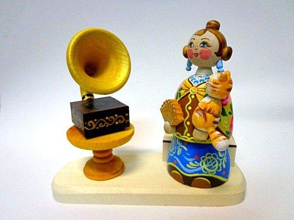 """Tver souvenirs / Composition """"At the gramophone"""""""