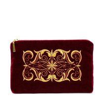 Velvet cosmetic bag 'Nadina'