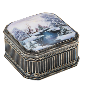 "Rostov enamel / Casket ""April"""