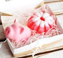New Year's mini handmade soap set