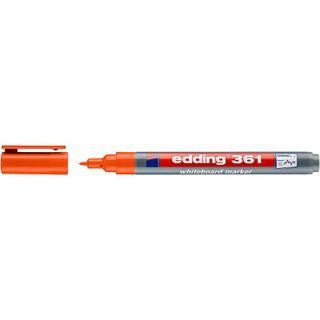 Edding / Whiteboard marker, round nib, 1mm Orange