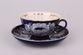 Dulevo porcelain / Set tea cup with saucer, 12 pcs., 275 ml White swan kkz - view 1