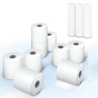 Receipt tape thermal PAPER 57 mm (diameter 45 mm, length of 29 m, the sleeve 12 mm) SET of 12 PCs, NBK