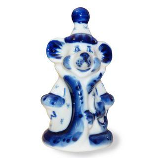 Sculpture Mouse-maiden 2nd grade, Gzhel Porcelain factory