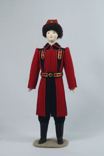 Men's suit. Yakutia. Dolls souvenir
