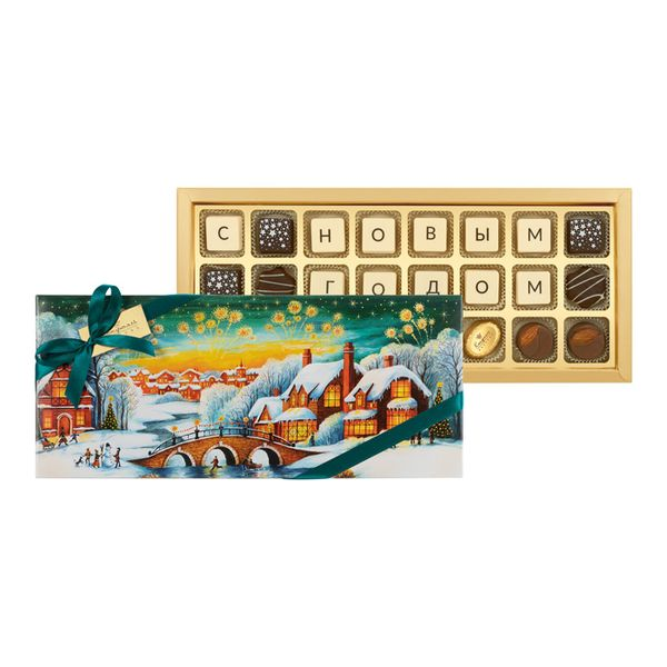 Congratulations 24/02 Set: chocolate, candy, candies, Assorted 485г