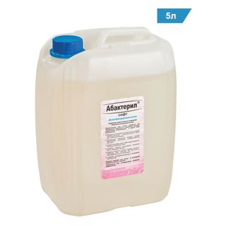 ABACTERIL / Liquid disinfectant soap SOFT 5 l