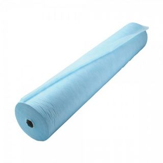 Disposable bed sheet IN ROLL Blue, 80 cm x 200 meters
