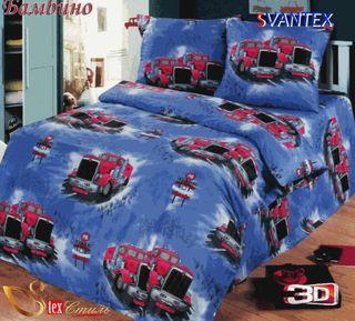 Satin bed linen 3D Bambino