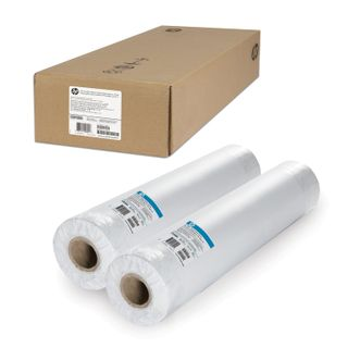 Rolls for plotter (adhesive film), 610 mm x 22 m x bushing 50.8 mm, 120 g/m2, matte, set of 2 PCs, HP