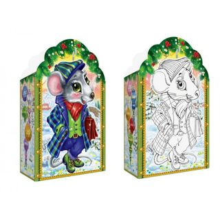 """New Year's gift Mouse """"Dude"""", a set of sweets 450g."""