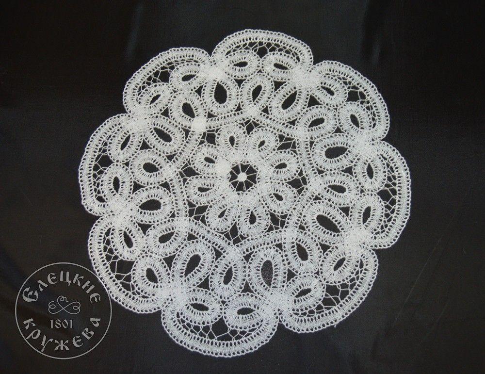 Yelets lace / Lace napkin С2227