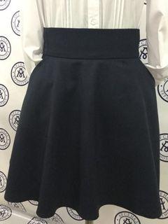 "Skirt half-sun from the collection ""Change"", half-visor"