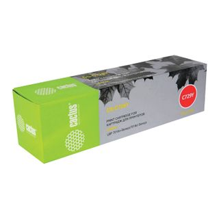 Laser cartridge CACTUS (CS-C729Y) for CANON LBP-7010C / 7018C, yellow, resource 1000 pages.
