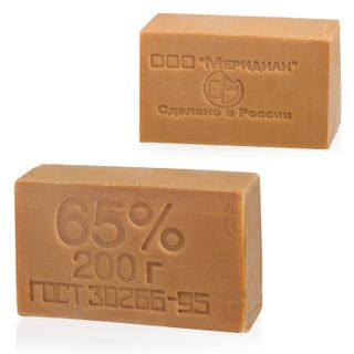 Soap economy 65%, 200 g, MERIDIAN, no packaging