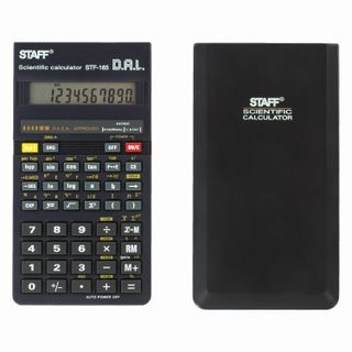 Engineering calculator STAFF STF-165 (143x78 mm), 128 functions, 10 digits