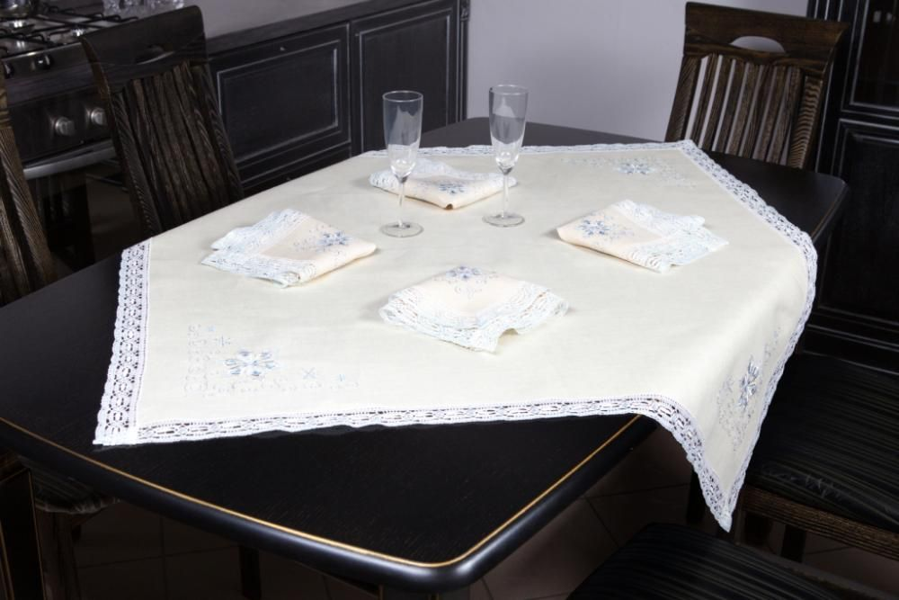 """Set of table linen """"Snowflakes"""""""
