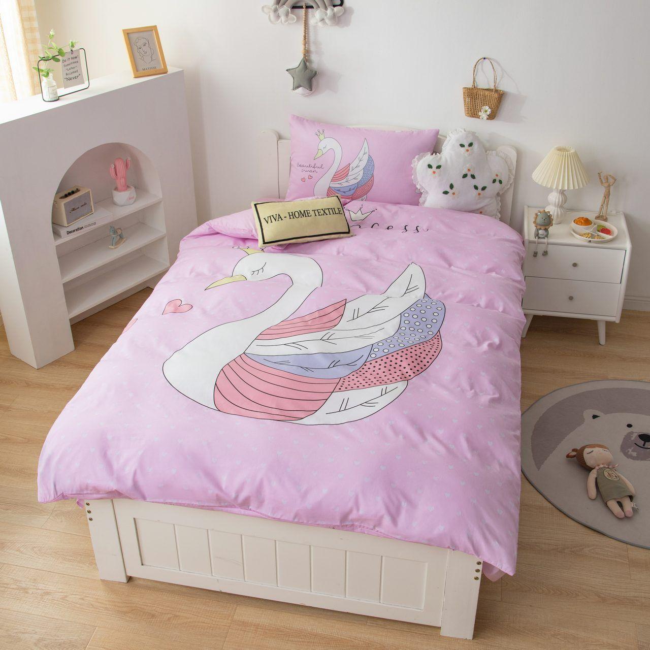 Sitrade / Sateen bedding set for children CD026, 1.5 sleeping pillowcase 50-70