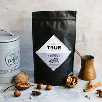 Fresh coffee beans Brazil Santos