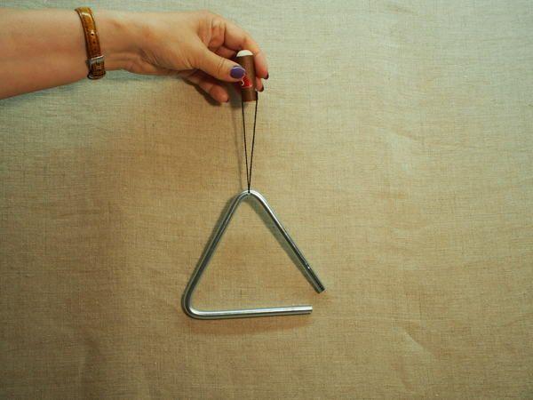 Serebrov's workshop / Musical triangle 10 cm.