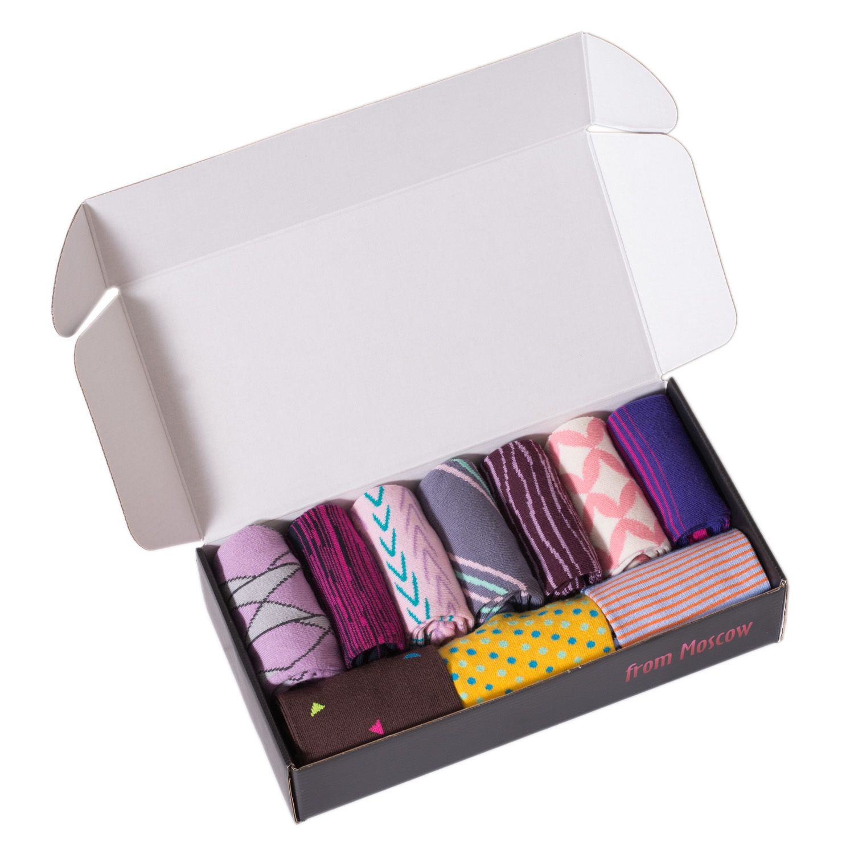 Set of 10 pairs of MoscowSocksClub women's socks