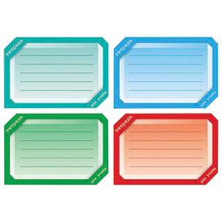 Sticker for notebooks, HATBER, Euro slot, set of 16 PCs,
