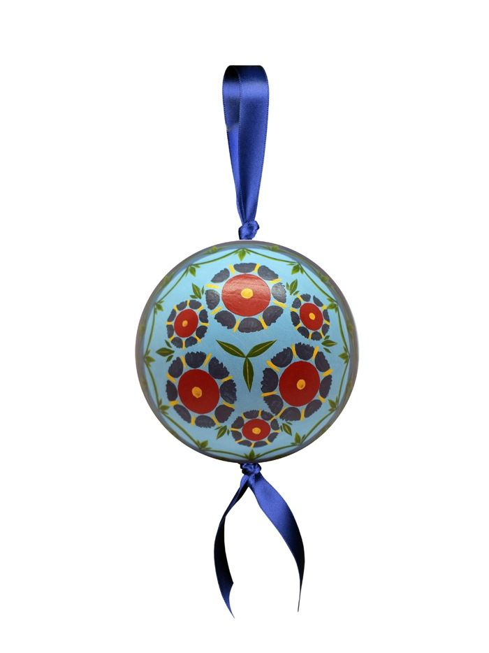 "Shugozerskaya painting / Pendant decoration ""Ball"""