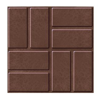 "The PPK Reinforced paving tile ""8 bricks"" 330х330х30 (m2 / 9 PCs)"