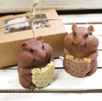 Handmade soap Hamster with cookies
