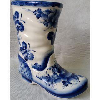 "Sculpture ""Boot"" Gzhel 400 g"
