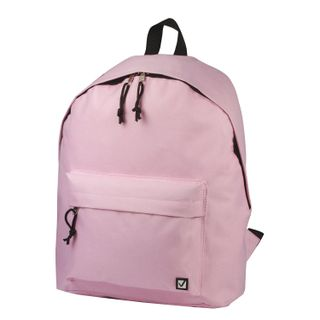 Backpack BRAUBERG universal, city size, pink, 38х28х12 cm