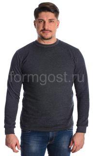 Sweatshirt footer with fleece, grey, etc