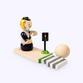 Bogorodsk toy / Wooden souvenir 'Inspector' - view 1