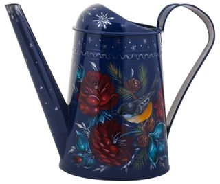 Zhostovo / Steel watering can, author Yurasov I.