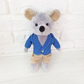 "Soft toy Zolushka ""Mouse Justin"" 27cm"