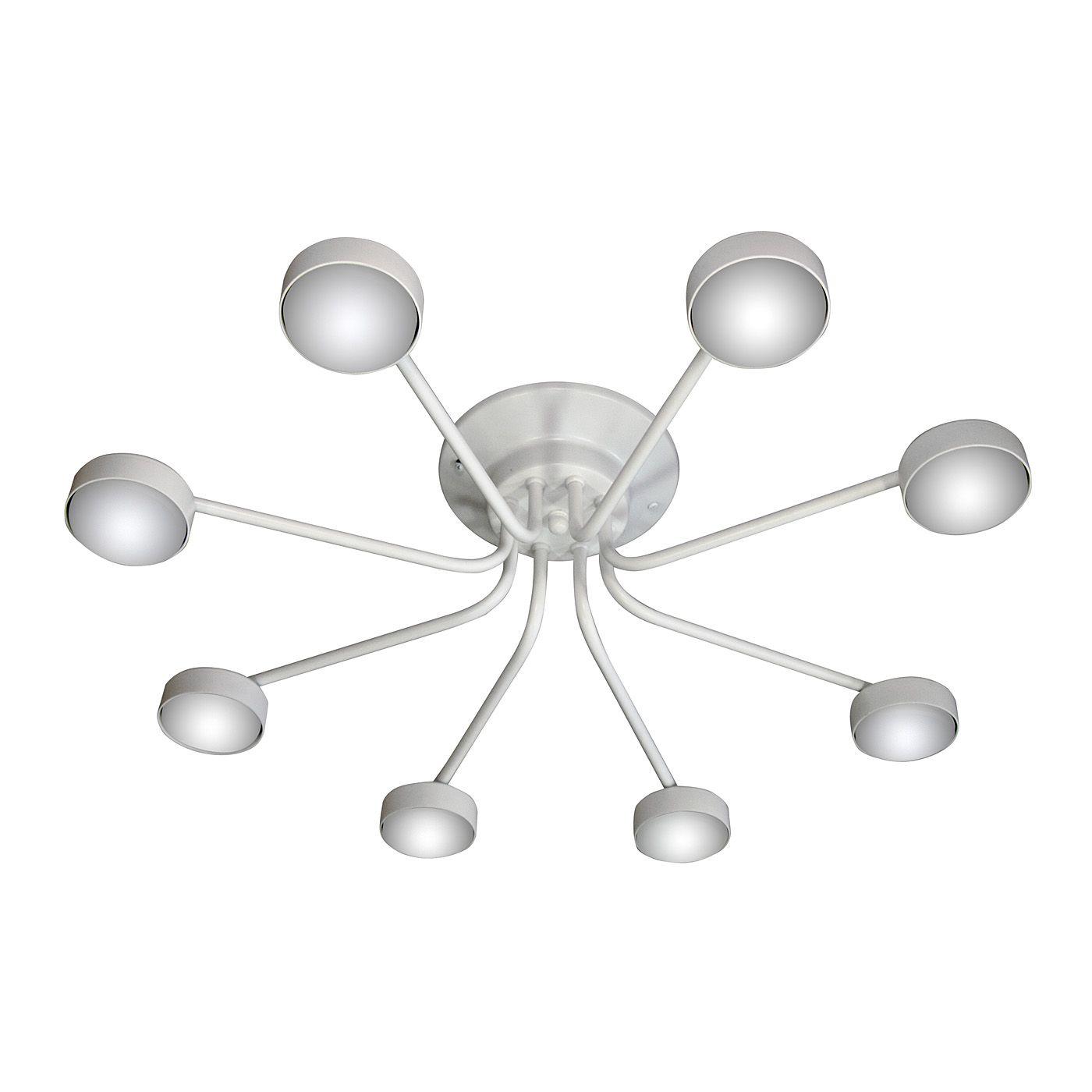 PETRASVET / Ceiling chandelier S2396-8, 8xGX53