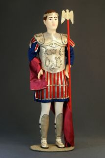 The Emperor. The military uniform. The Roman Empire. 27 BC. Doll gift