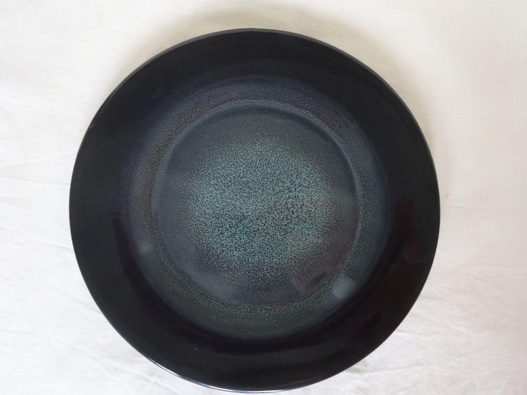 """Horex / Plate """"Verde Notte"""" ristorante 200 mm 12 pcs."""