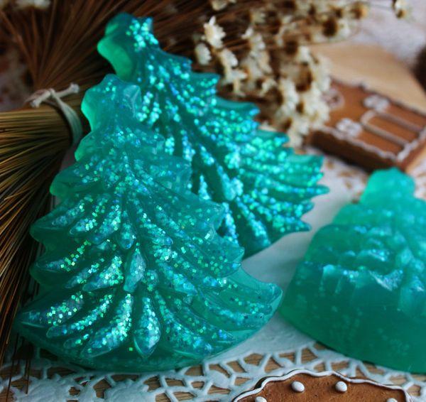 Tree - pine handmade soap