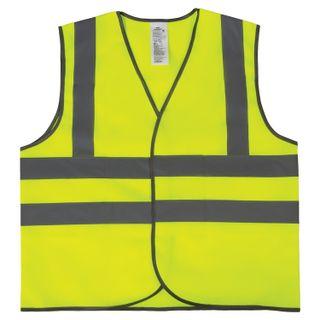 GRANDMASTER / GOST signal vest, 4 reflective stripes, LEMON, XXL (56-58), Dense