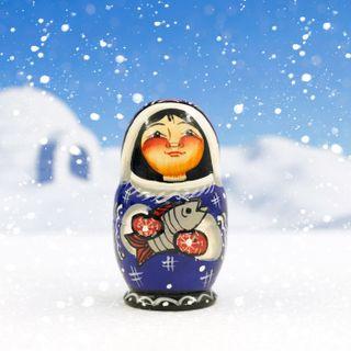 """Doll """"Eskimo"""" 3 dolls"""