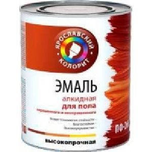 "Enamel PF-266 ""Yaroslavsky coloring"" for the floor"