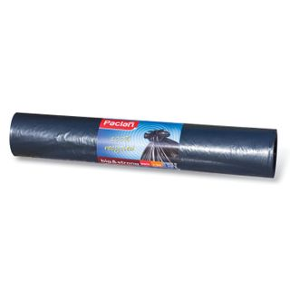 "PACLAN / Garbage bags ""Big & Strong"" 240 l, black, 20 pcs per roll, LDPE, 35 microns, 140x90 cm"