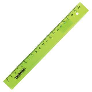 Line plastic, 20 cm, PYTHAGORAS, transparent, neon, assorted