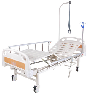 Multifunctional medical bed with electric drive